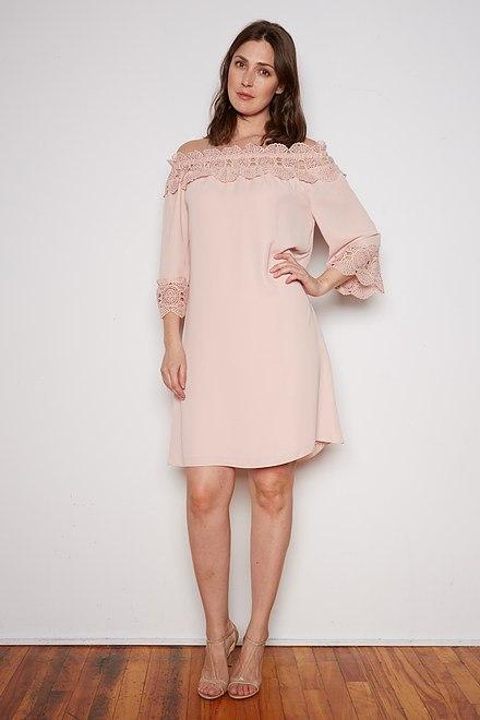 Joseph Ribkoff Rose Dresses Style 202091