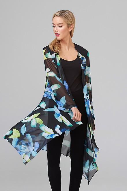 Joseph Ribkoff Black/Multi Cardigans Style 202109