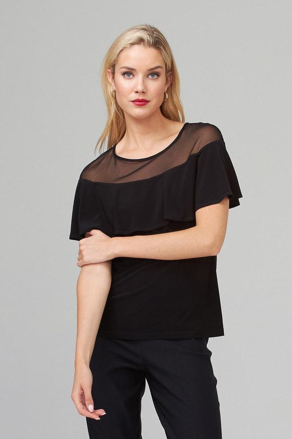 Joseph Ribkoff Tee-shirts et camisoles Noir Style 202113