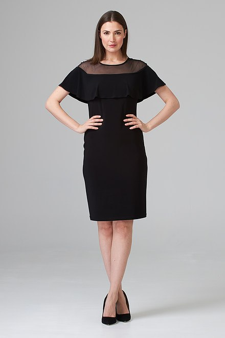 Joseph Ribkoff Black Dresses Style 202125