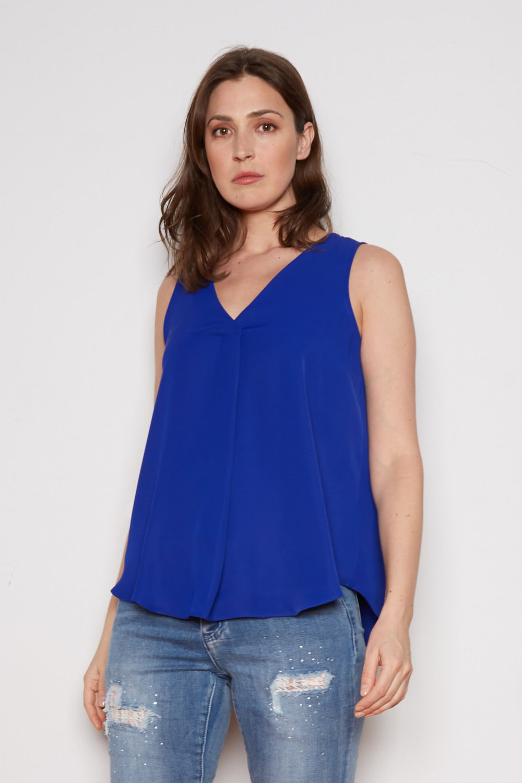 Joseph Ribkoff Tee-shirts et camisoles Saphir Royal 163 Style 202134