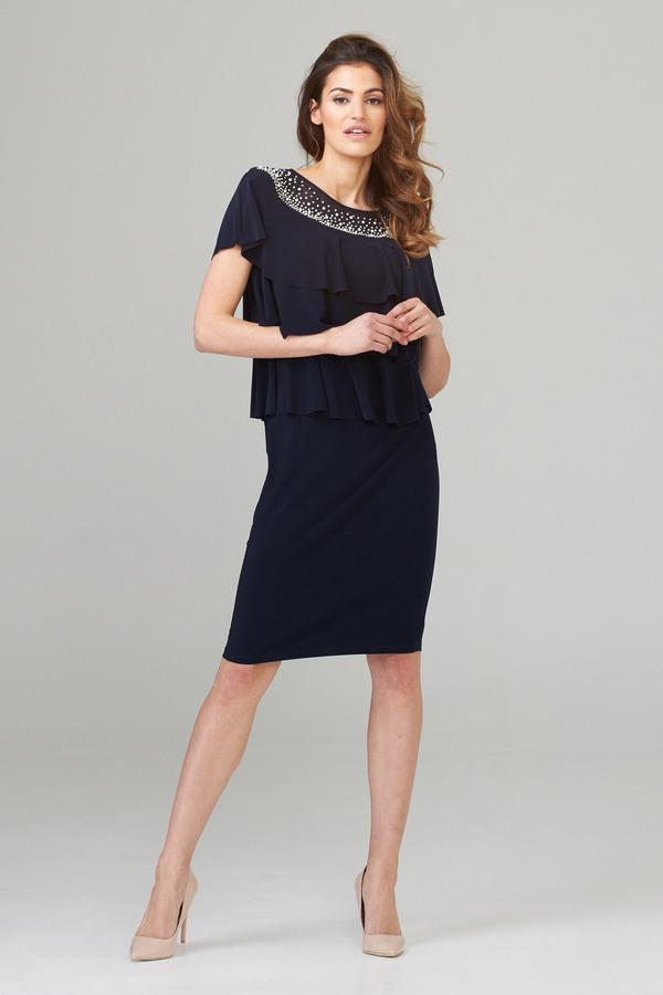 Joseph Ribkoff Midnight Blue Dresses Style 202153
