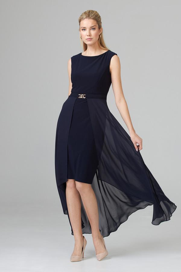 Joseph Ribkoff Robes Bleu Nuit Style 202159