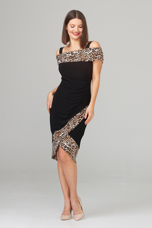 Joseph Ribkoff Beige/Black Dresses Style 202161