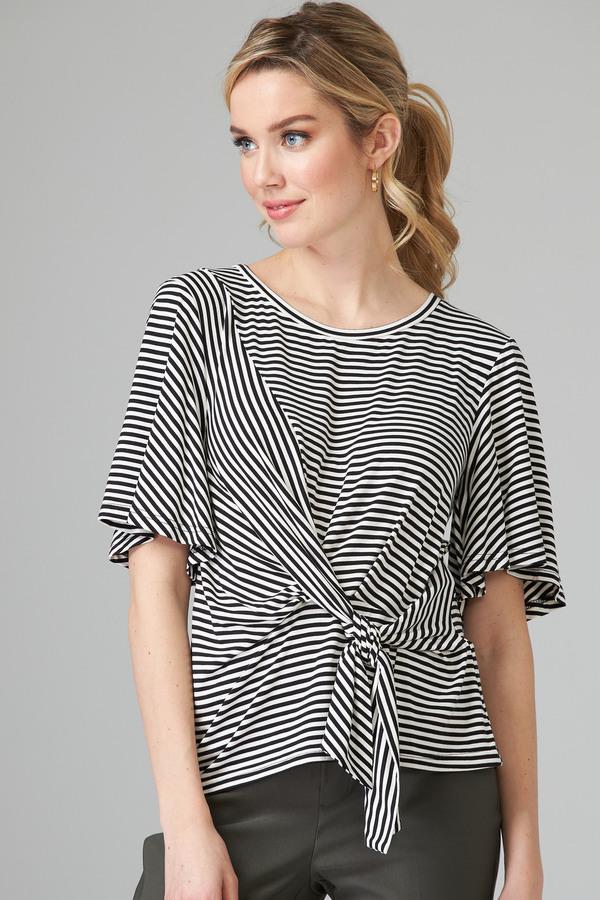 Joseph Ribkoff Chemises et blouses Noir/Blanc Style 202190