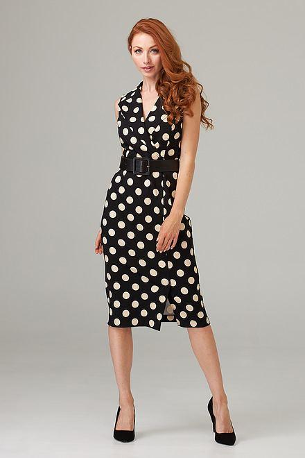 Joseph Ribkoff Black/Beige Dresses Style 202209