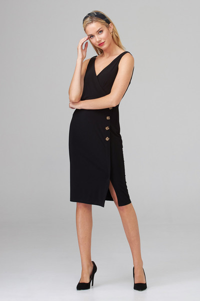 Joseph Ribkoff Robes Noir Style 202222
