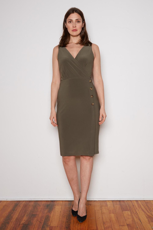 Joseph Ribkoff Avocado Dresses Style 202222