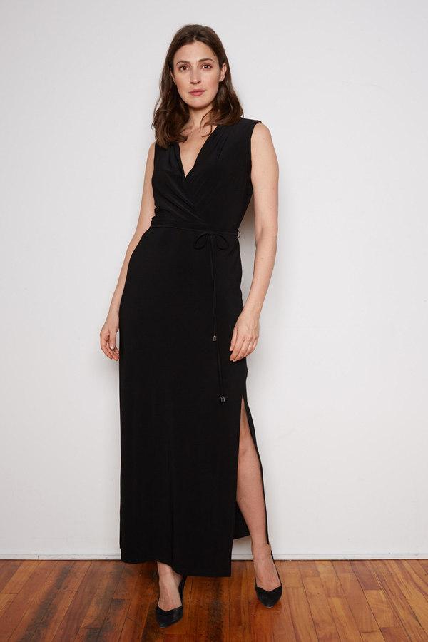 Joseph Ribkoff robe style 202225. Noir