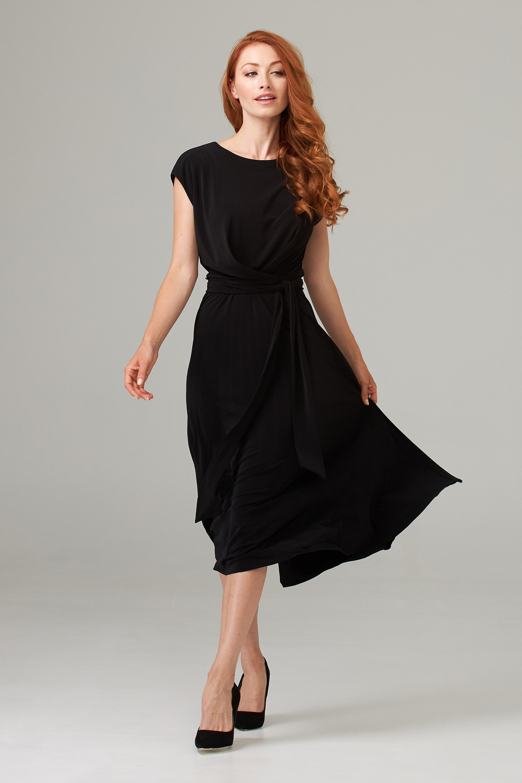 Joseph Ribkoff Black Dresses Style 202233