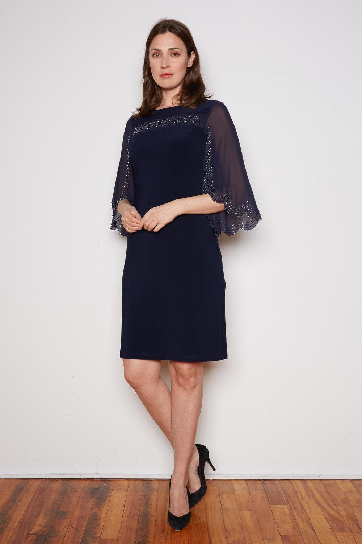 Joseph Ribkoff Midnight Blue Dresses Style 202266