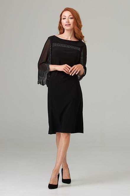 Joseph Ribkoff Robes Noir Style 202266