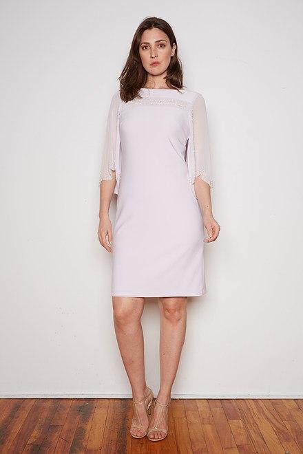 Joseph Ribkoff LAVENDER FOG Dresses Style 202266
