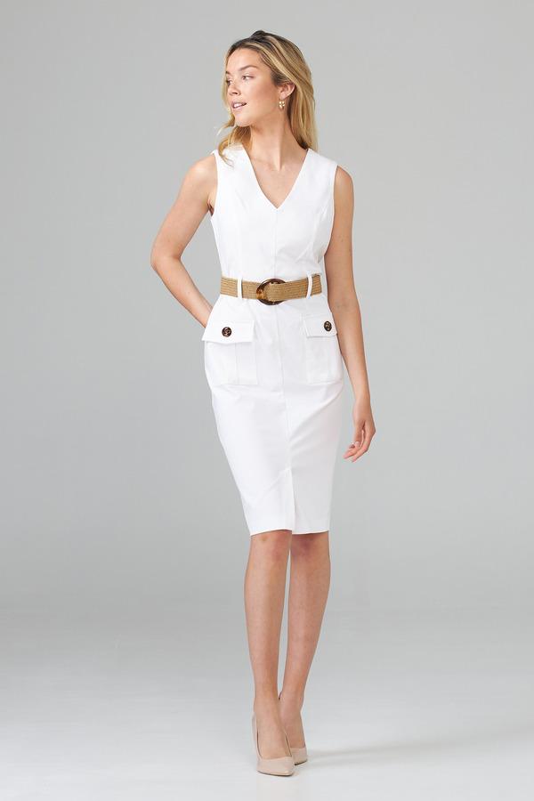 Joseph Ribkoff Robes Blanc Style 202273