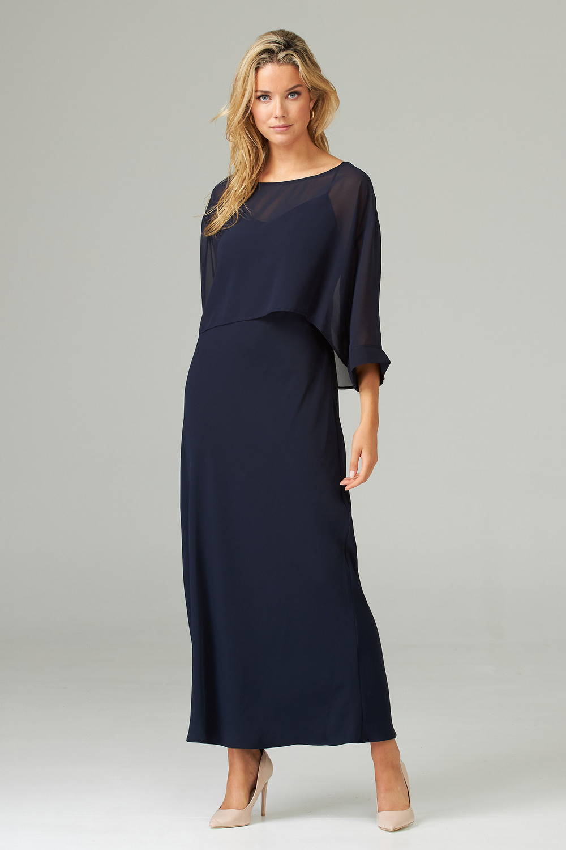 Joseph Ribkoff Midnight Blue 40 Dresses Style 202278