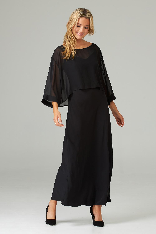 Joseph Ribkoff Robes Noir Style 202278