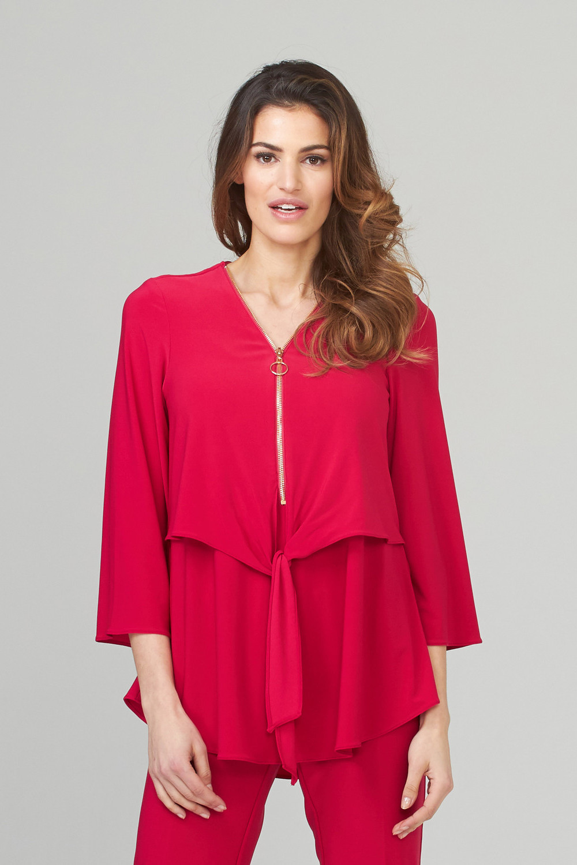 Joseph Ribkoff Cerise Shirts & Blouses Style 202281