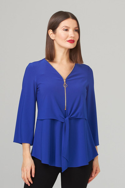 Joseph Ribkoff Royal Sapphire 163 Shirts & Blouses Style 202281