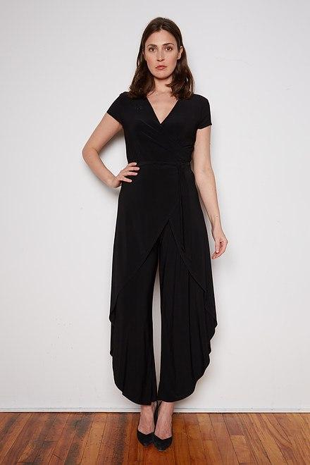 Joseph Ribkoff Black Jumpsuits Style 202284