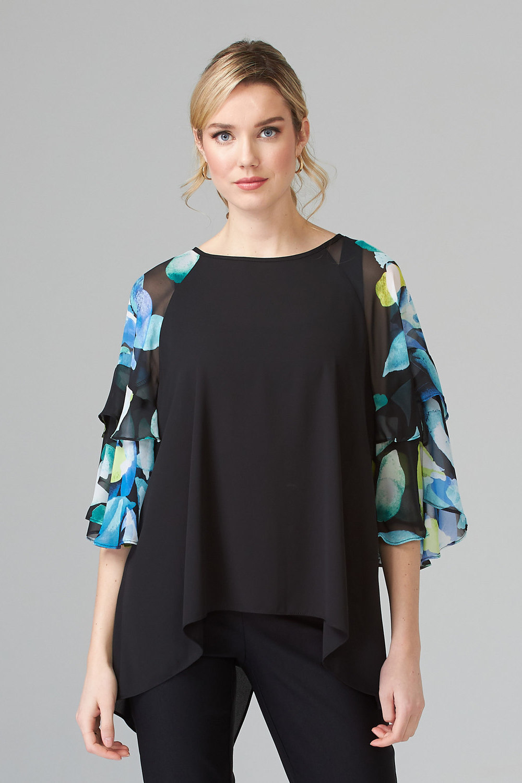 Joseph Ribkoff Chemises et blouses Noir/Multi Style 202289