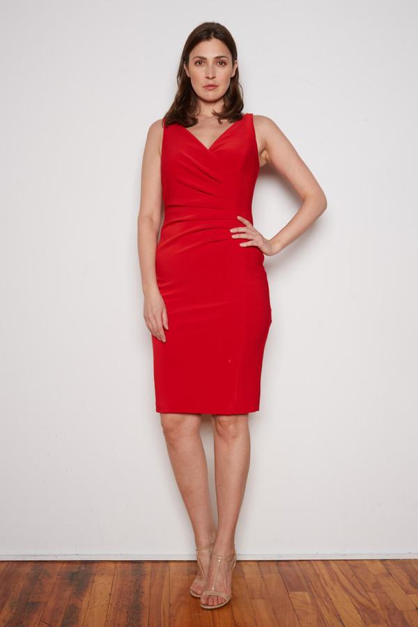 Joseph Ribkoff Lipstick Red 173 Dresses Style 202303