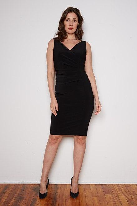Joseph Ribkoff Robes Noir Style 202303