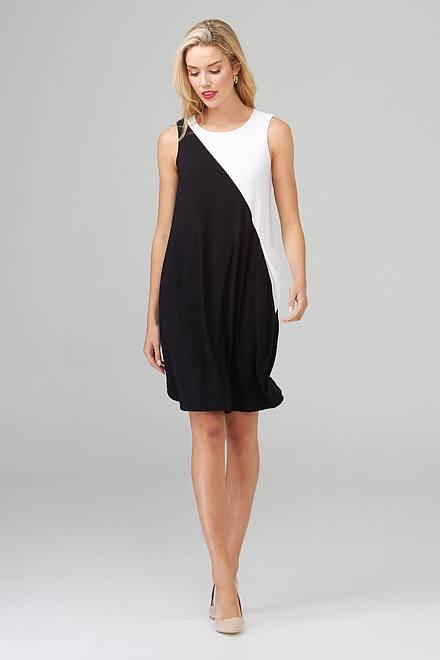 Joseph Ribkoff Black/Vanilla Dresses Style 202305