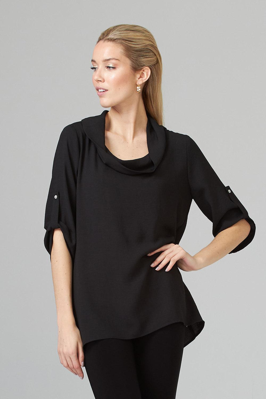 Joseph Ribkoff Black Tunics Style 202320