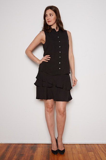 Joseph Ribkoff Robes Noir Style 202323