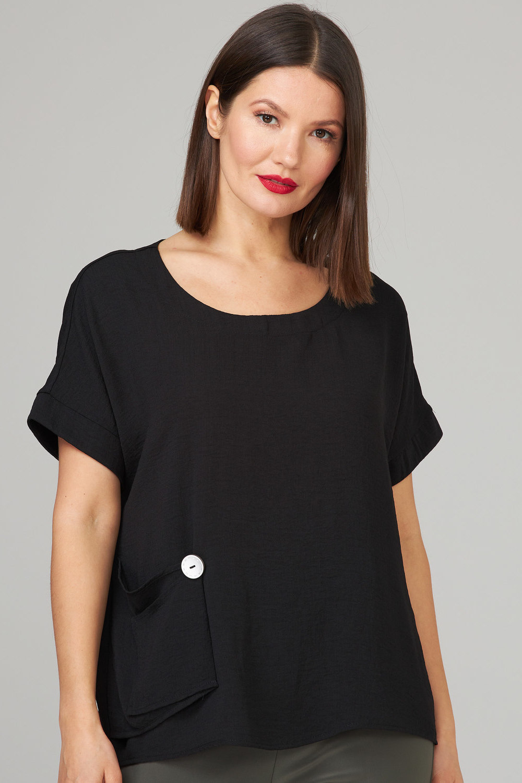 Joseph Ribkoff Tee-shirts et camisoles Noir Style 202325