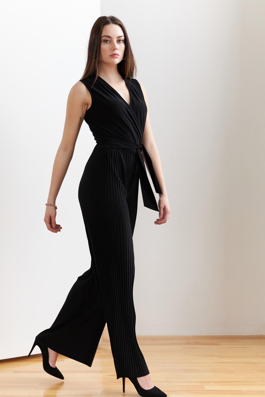 Joseph Ribkoff Black Jumpsuits Style 202336