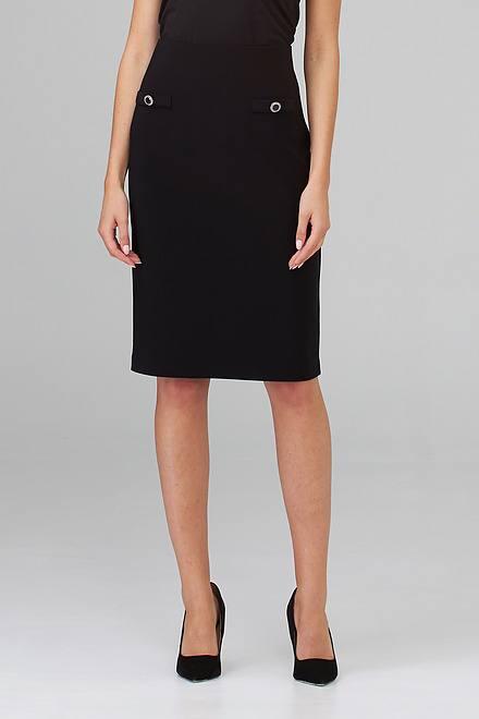 Joseph Ribkoff Black Skirts Style 202353