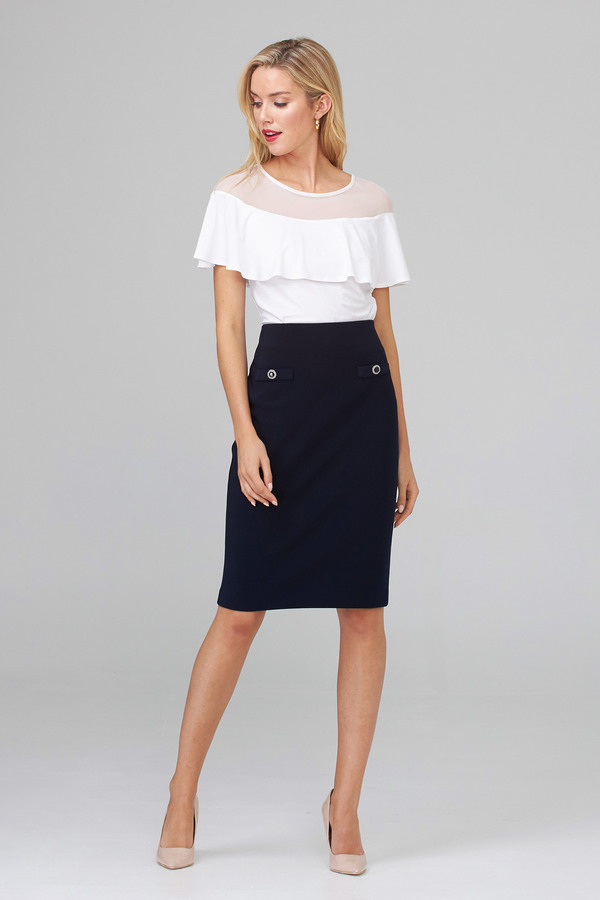 Joseph Ribkoff Midnight Blue Skirts Style 202353