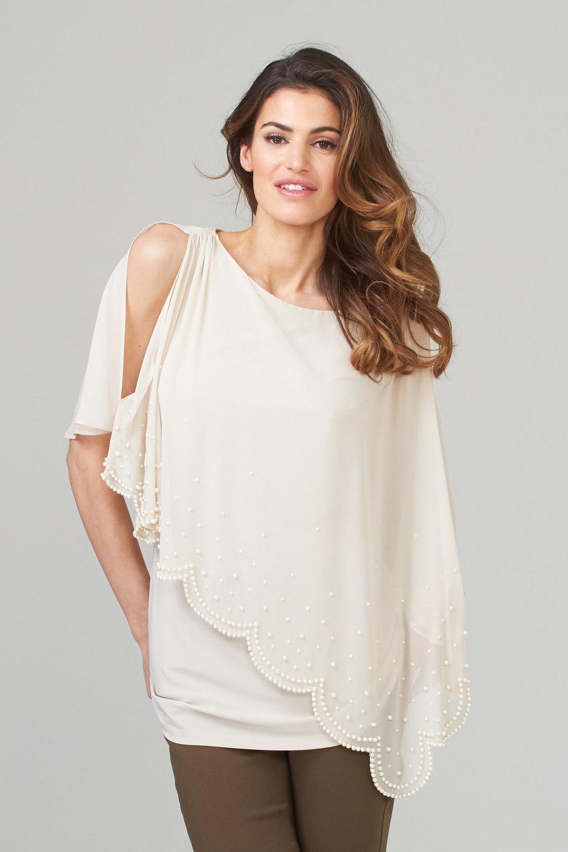 Joseph Ribkoff Chemises et blouses Champagne 171 Style 202362
