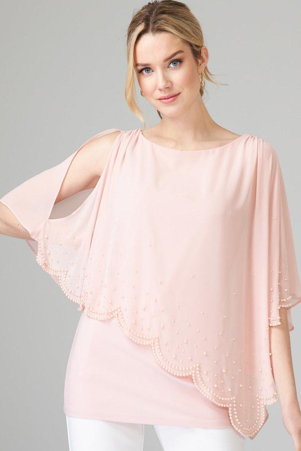 Joseph Ribkoff Rose Shirts & Blouses Style 202362