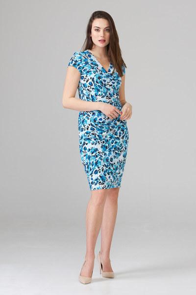 Joseph Ribkoff Robes Bleu/Multi Style 202365