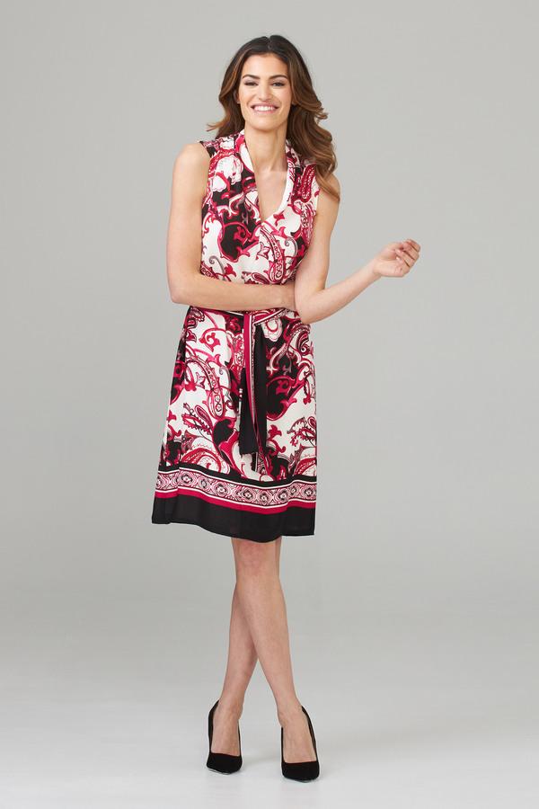 Joseph Ribkoff Robes Vanille/Multi Style 202377