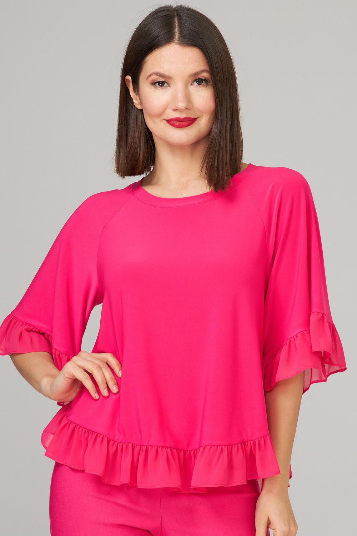 Joseph Ribkoff HYPER PINK Shirts & Blouses Style 202380
