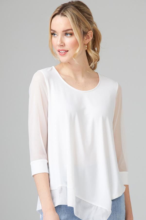 Joseph Ribkoff Chemises et blouses Vanille 30 Style 202383