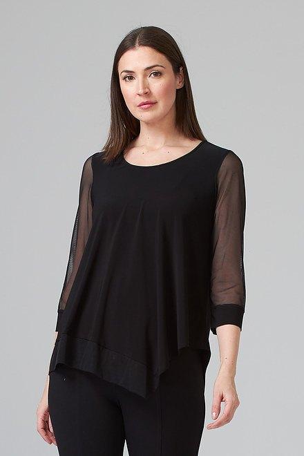 Joseph Ribkoff Black Shirts & Blouses Style 202383