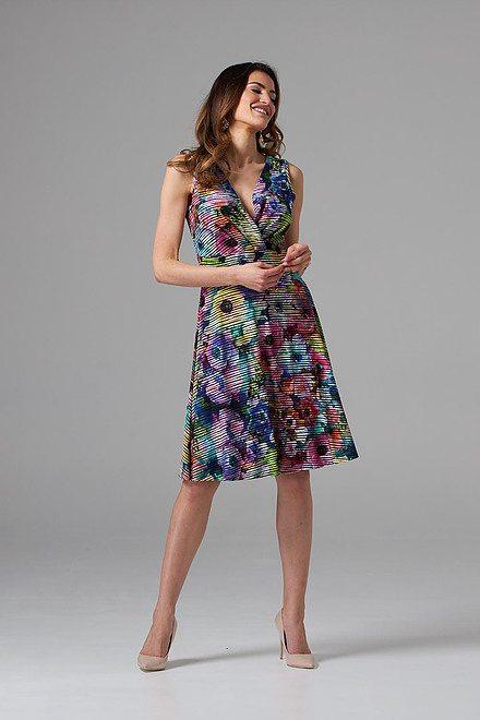 Joseph Ribkoff Black/Multi Dresses Style 202389
