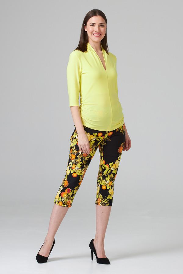Joseph Ribkoff Black/Multi Pants Style 202391