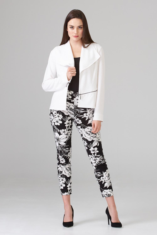 Joseph Ribkoff Black/White Pants Style 202393