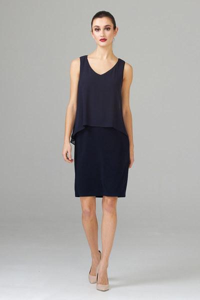 Joseph Ribkoff Robes Bleu Nuit Style 202398