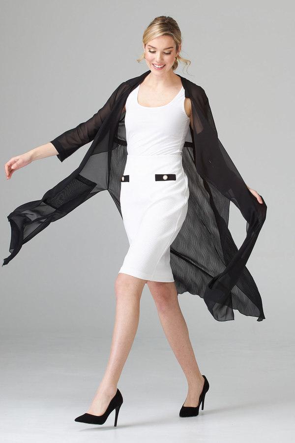 Joseph Ribkoff Vanilla/Black Skirts Style 202417