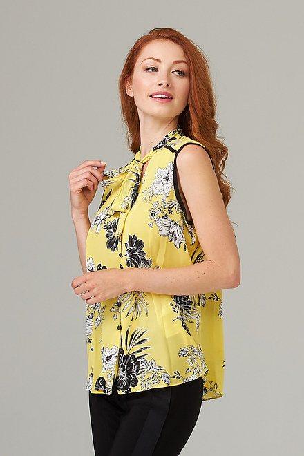 Joseph Ribkoff Chemises et blouses Soleil / Noir Style 202418