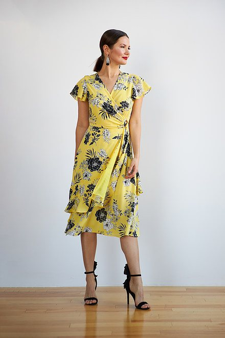 Joseph Ribkoff Sunshine/Black Dresses Style 202425