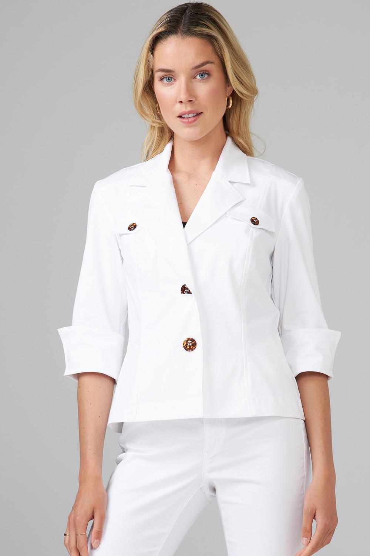 Joseph Ribkoff White Jackets Style 202439