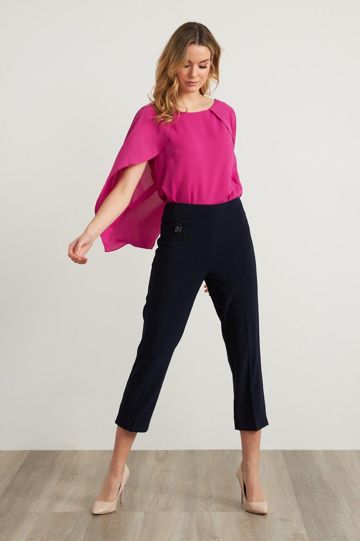 Joseph Ribkoff Pantalons Bleu Nuit Style 202441