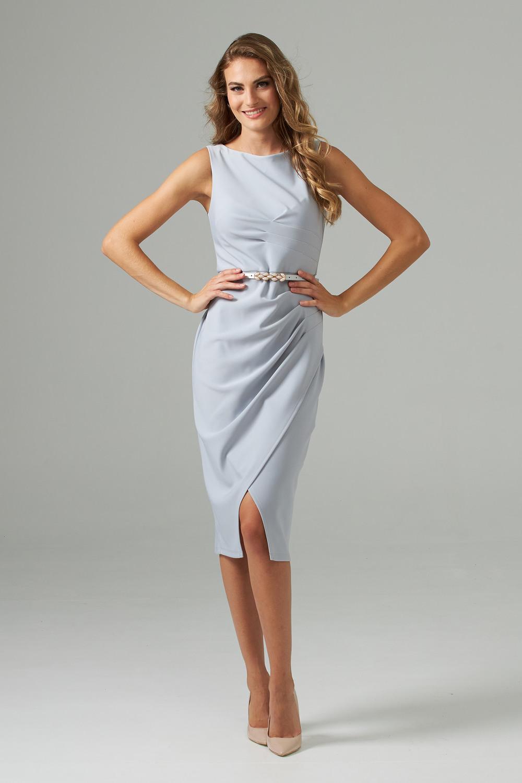 Joseph Ribkoff GREY FROST  193 Dresses Style 202448